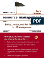 Human Resource Management - Ethics Justi