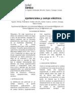 Líneas Equipotenciales y Campo Eléctrico.