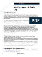 SAFe Case Study White Paper