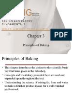 Chapter III - Principles of Baking