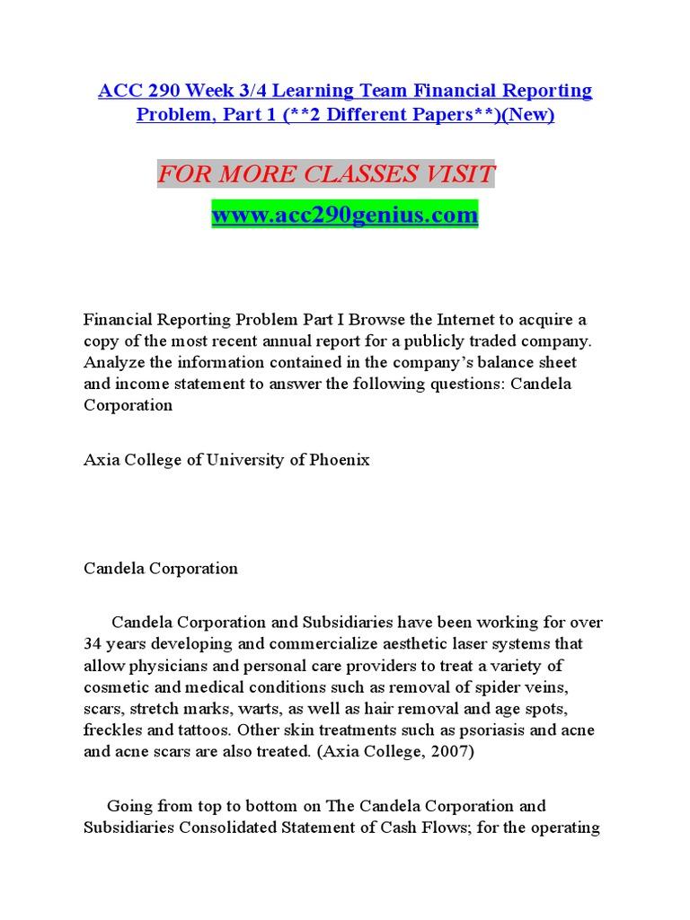 personal cash flow statement university of phoenix