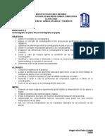 Práctica 2 Cromatografía de Placa Fina