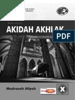 Buku Akidah Akhlak MA 10 Guru - Www.divapendidikan.com