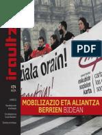 171 IRAULTZEN (aldizkari sindikala, revista sindical, journal syndical)