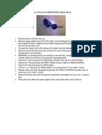 Reprogram BMW 2-Button Fobs