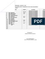 Daftar Hasil Pemeriksaan Suspect Tbc