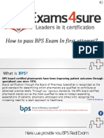BPS Exam Questions