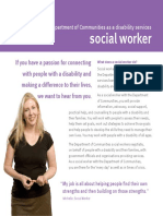 Disability Services Social Worker