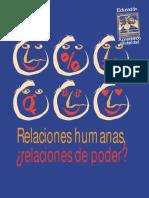 Relaciones Humanas Relaciones de Poder