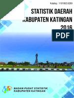 Statistik Daerah Kabupaten Katingan (1)