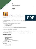 Explorable.com - Research Designs - 2014-10-08