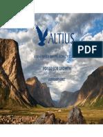 Altius Corporate Presentation Feb 2017