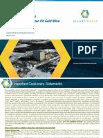 Atlantic Gold Corporation Corporate_presentation 2017