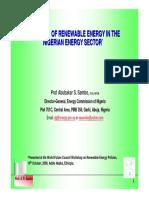 Nigeria Renewable Energy Masterplan
