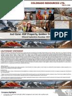 Colorado Resources Ltd. Investor Presentation 2017