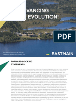 Eastmain Resources Inc. Corporate-presentation
