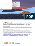 GT Gold Corp. Corporate-presentation