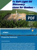 Junex Presentation 2015