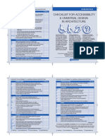 Accessibility Checklist 2008