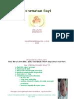 Lembar Balik Perawatan Bayi
