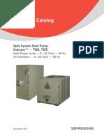 Trane Split System Heat Pump