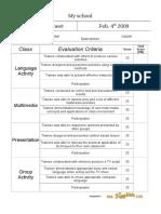 Report Card Adults Doc