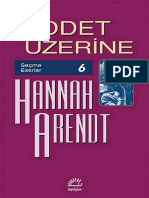Hannah Arendt - Şiddet Üzerine (Cs)