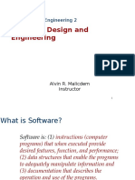 1 - Software Design and Engineering