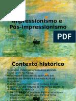 Impressionismo, Autores e Obras Exemplares