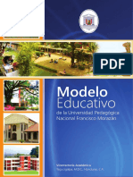 Modelo Educativo Upnfm