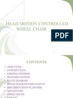 Motion Control Wheel Chair