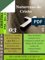 03 - As Naturezas de Cristo