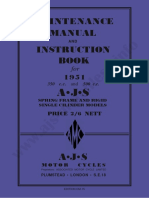 AJS 350 & 500 1951 Maintenance Manual & Instruction Book.pdf