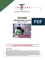 SigmaTel STIr4200 Datasheet 315577 1