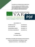 Cover Laporan Diagnosis Dan Intervensi Komunitas Kel 6