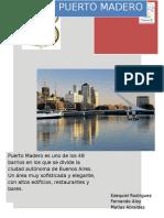 Informe Puerto Madero