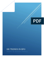 HR TRENDS IN BPO