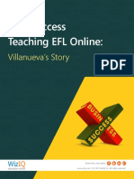 Find Success Teaching EFL Online- Villanueva's Story