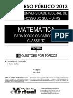 MATEMÁTICA - 2