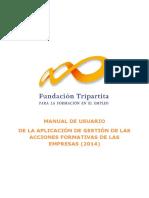 Manual de La Aplicación 2014