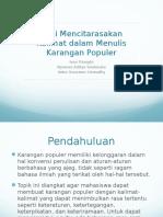 Seni Mencitarasakan Kalimat Dalam Menulis Karangan Populer - Ivan, Nyoman, Indra