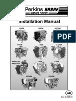 Installation Manual Aux Engines - N38143