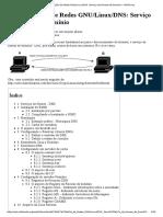 Administração de Redes GNU_Linux_DNS_ Serviço de Nomes de Domínio