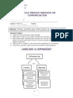 u7 y 8 Medios Masivos de Comunicación