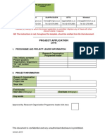 HORTGRO Science Project Application form