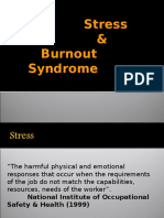 Stress & Burnout Syndrome
