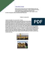 Tarian Cakalele Maluku Utara