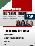 Final Emergecny Powerpoint Triage