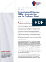 Defending the Philippines- Military Modernization and the Challenges Ahead