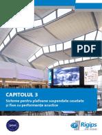 Catalog Produse Si Servicii - Plafoane Acustice Casetate Rigips